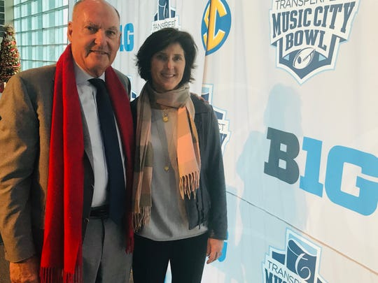 Big Ten commissioner Jim Delany and his wife Kitty will move back to Nashville after he retires on Jan. 1.