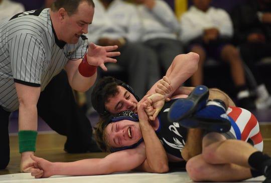 132 lbsKyle Reiter (Wood Ridge) vs Rocco Panierino (Passaic Tech)Frank Dawson wrestling tournament