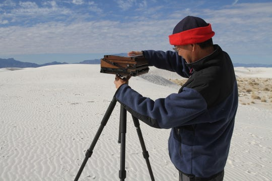 Large format photographer QT Luong explains how his wooden camera is able to take high resolution photographs of nature.