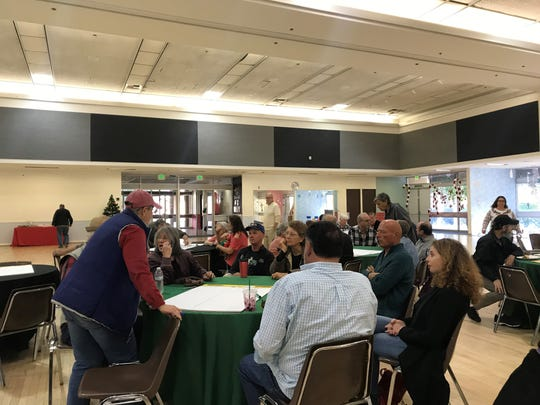 More than 25 dog owners attended the Saturday meeting, which was billed as the first of several on the topic.