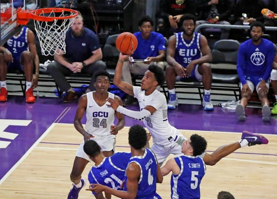 Action from GCU's first half against Eastern Illinois.