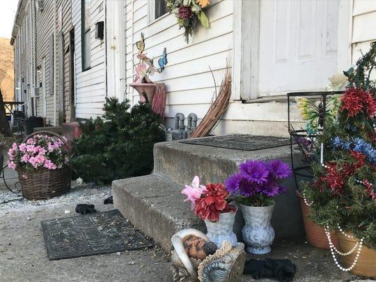 Double-homicide scene in York