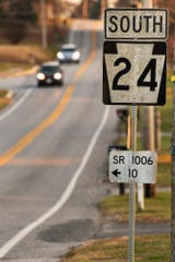Repair and resurfacing is planned in 2020 for a 3.7-mile section of Route 24 from Mount Wolf borough to Mount Zion Road.