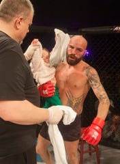 Brandon Honsvick, an MMA fighter from Hurricane, fought in Mayhem in Mesquite XVIII and picked up his fourth career victory.