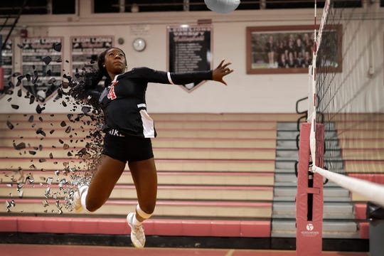 Leon senior outside hitter Shania Cromartie is the 2019 All-Big Bend Player of the Year in volleyball after leading the area in kills (394) and sitting fourth in the area in digs (304) while leading the Lions to a Class 6A state title and being selected the Dairy Farmers Class 6A Player of the Year.