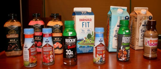New beverages containing some dairy products help to target new consumers.