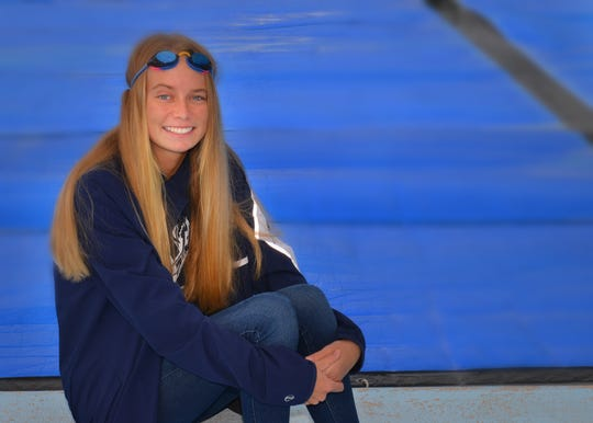 Sydney Weatherspoon of West Shore Junior is the FLORIDA TODAY Girls Swimmer of the Year.