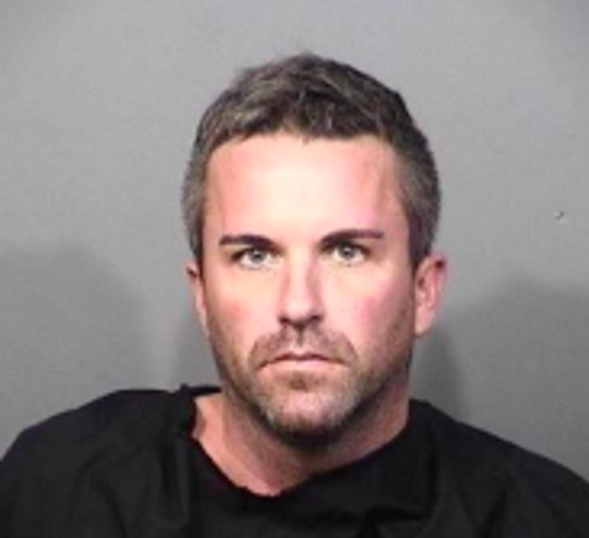 John Edward Lee IV, 35, was arrested and charged with robbery without a firearm.