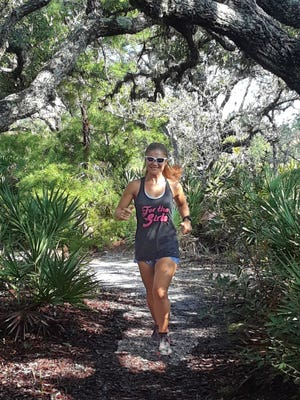 Hazel McNees will be Running Space Coast Trails in support of For the Girls Scholarship Fund. The race/walk is sponsored by Avtec Homes.