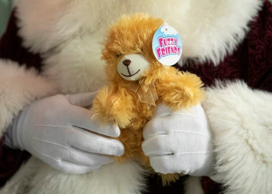 Nick Rose and his elves handed out almost 100 bears at Adena medical Center on Dec. 19, 2019.