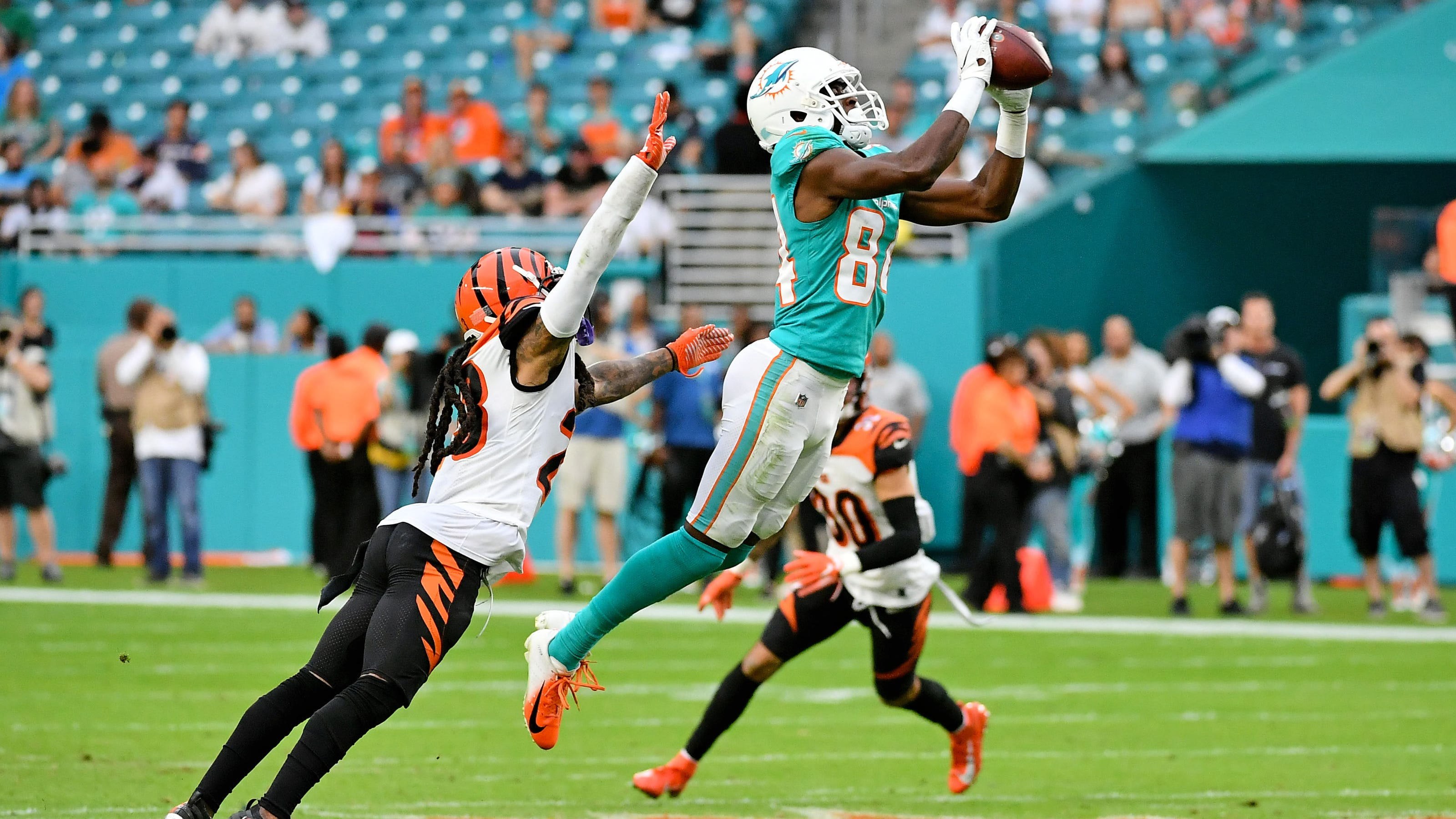 Miami Dolphins still have wide receiver depth after opt-outs for 2020