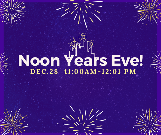 """The """"Noon Year"""" event is free and open to the public."""