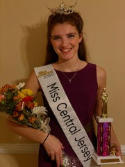 On Nov. 16, Ariel Staffin of Bridgewater became the second woman to be crownedMiss Central Jersey after winning the Miss New Jersey/Miss America Preliminary competition. She will compete for the Miss New Jersey crown in June.