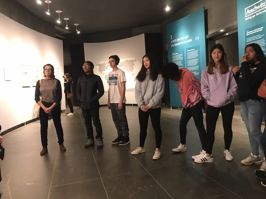Wardlaw+Hartridge freshman class visited the Jewish Heritage Museum in New York.