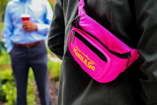 Kum & Go employees produced a line of fanny packs that plays on customers nostalgia for the company.