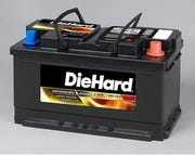 Sears launched DieHard auto batteries in 1967.