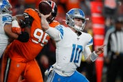 Senior Bowl director Jim Nagy is impressed with Lions backup quarterback David Blough, who started the final five games.