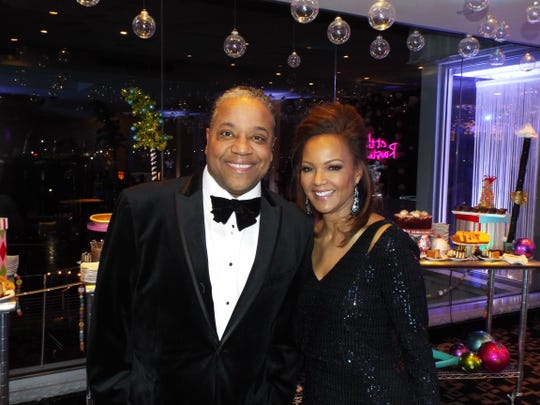 Gregory Goss and wife, Carolyn Clifford from WXYZ-TV