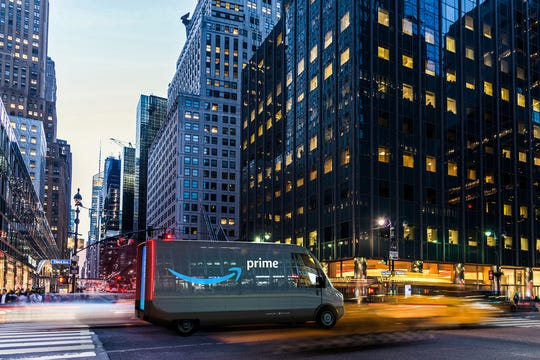 Amazon and Rivian in September announced a deal that would have Rivian build 100,000 electric vans for the e-commerce giant.The first batch ofvansis expected to hit U.S. roadways by 2021, with 10,000 on the roadby late 2022.