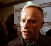 British musician Keith Flint of Prodigy