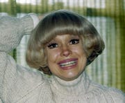 Carol Channing, star of Broadway musicals, is pictured, Feb. 7, 1984.