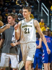 Franz Wagner and Michigan are ranked No. 11 in this week's Associated Press Top 25 men's basketball poll.