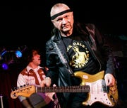 "Dick Dale, known as ""The King of the Surf Guitar"""