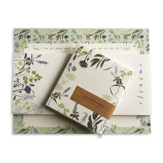 Beautiful notepads from June & December make good gifts for others -- or yourself.
