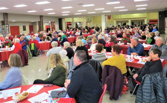 Approximately 200 guests attended Port Clinton High School's Holiday Breakfast with the Arts. After breakfast, guests enjoyed a concert by PCHS choirs, band and orchestra.