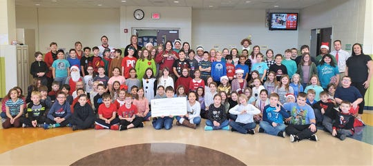 Bataan students raised nearly $1,500 to donate to African Safari Wildlife Park.