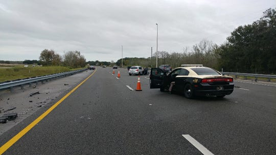A hit-and-run crash along Interstate 4 east of state Route 559 in Polk County claimed the life of a three-year-old Fort Myers boy who was unrestrained in a rear seat.