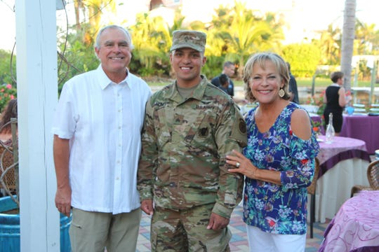 Owners Doug and Christy Speirn-Smith host numerous special events at Matanzas on the Bay, raising money for local organizations.