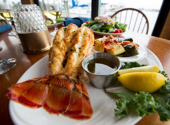 Lobster tail is a staple at Matanzas on the Bay