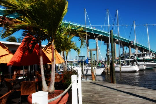 Sitting underneath the Matanzas Bridge, you'll find the waterside restaurant gem, Matanzas on the Bay.