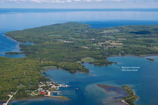 Big Susie and Little Susie Islands are now under protection by the Door County Land Trust.