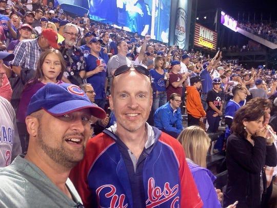 Matt Tully was a huge Chicago Cubs fan.