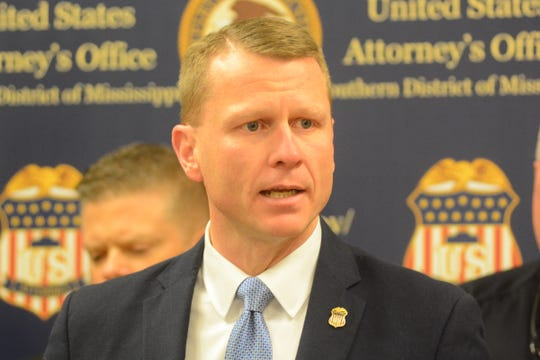 U.S. Attorney Mike Hurst announced at a press conference on Dec. 23, 2019, that his office is partnering with the local branch of the U.S. Marshals Service and several metro Jackson law enforcement agencies to crack down on violent crime in Jackson, Miss.