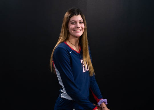 Cicily Hidalgo-All Acadiana Volleyball. Wednesday, Dec. 11, 2019.