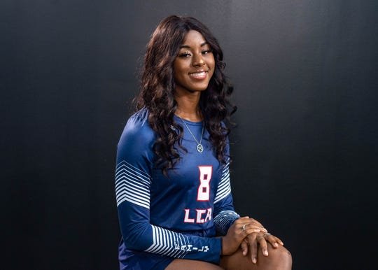 Kourie Calloway-All Acadiana Volleyball. Wednesday, Dec. 11, 2019.