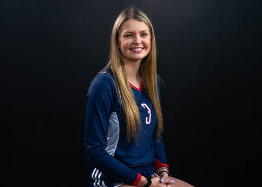 Paige Guidry-All Acadiana Volleyball. Wednesday, Dec. 11, 2019.
