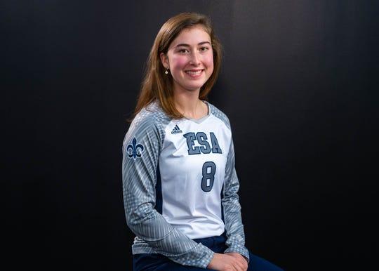 Maggie Shuffler-All Acadiana Volleyball. Wednesday, Dec. 11, 2019.