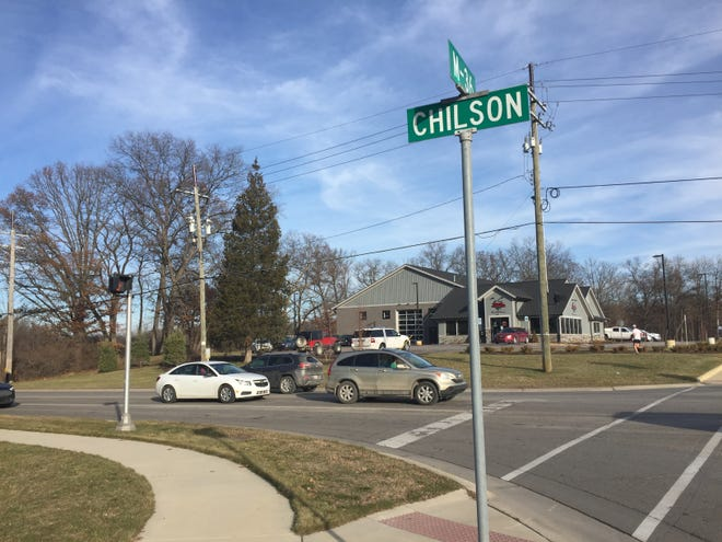 About 2.5 miles of Chilson Road in Hamburg Township is one of several road projects in the Livingston County Road Commission's adopted 2020 budget. The road, at M-36, is shown Monday, Dec. 23, 2019.
