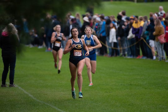 Alexa Tremble led the UW-Eau Claire women's cross country team in 2019.
