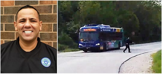 Yaghnam Yaghnam, a driver for the Milwaukee County Transit System, has been named one of PETA's Top Animal Rescuers of the Year for saving a turtle in May 2019.