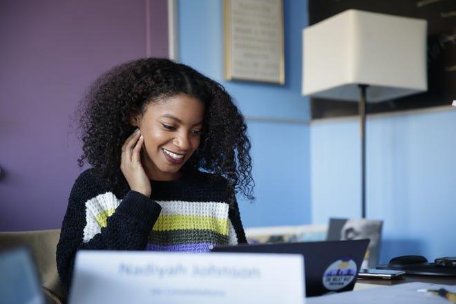 Nadiyah Johnson is expanding Milky Way Tech Hub, a tech business hub at 3801 W. Fond du Lac Ave. in Milwaukee's Sherman Park neighborhood.