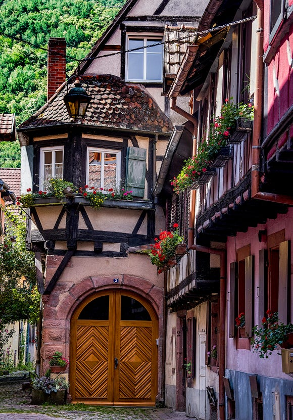 Architecture of the Alsace.