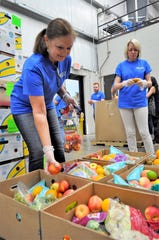 The Montgomery Area Food Bank provides food to a network of food pantries that serve the River Region and several other counties.