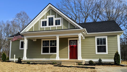 One of the five new HFHWM homes dedicated in February on Dec. 14, 2019.