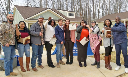 Habitat for Humanity Williamson-Maurydedicated five new residences in Willow Crest, its new mixed-income subdivision in Fairview on December 14, 2019.