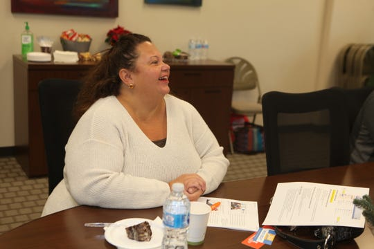 Roseann Rakidzic on her first day of training with the United Way Volunteer Income Tax Assistance (VITA) program to Springfield on Saturday, Dec. 21, 2019.